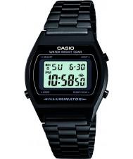 Casio B640WB-1AEF Mężczyźni retro zbiorem czarny zegarek