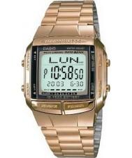 Casio DB-360GN-9AEF Kolekcja bank danych pozłacany zegarek