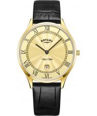 Rotary GS08303-03 Męski, ultra płaski zegarek