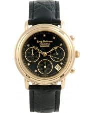 Krug-Baumen 150573DM Zasada mężczyzna diamentowy zegarek chronograf