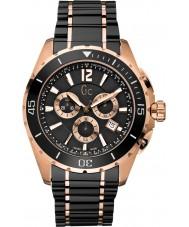 Gc X76004G2S Mężczyźni Klasa sportowa XXL czarny zegarek chronograf
