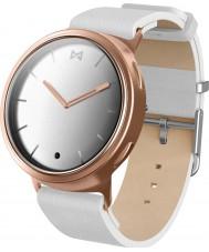 Misfit MIS5003 Faza biała skóra zegarek kompatybilny z Android i iOS