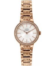 Rotary LB90085-02 Panie les originales wzrosła złoty zegarek