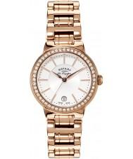 Rotary LB90085-02L Panie les originales wzrosła złoty zegarek