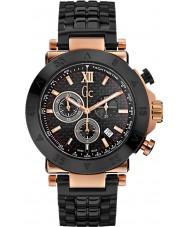 Gc X90006G2S Mężczyźni GC-1 czarny sportowy zegarek chronograf