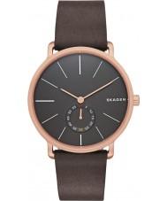 Skagen SKW6213 Mens Hagen czekolady skórzanym paskiem zegarek