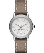 Marc Jacobs MJ1472 Panie Riley jasnobrązowy skórzanym paskiem zegarek