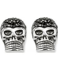 Thomas Sabo H1772-051-11 Pave czaszki srebrne kolczyki