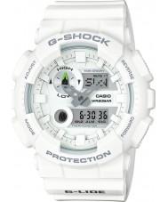 Casio GAX-100A-7AER Mężczyźni g-shock czas światowy biały zegarek combi