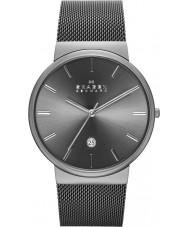 Skagen SKW6108 Mens ancher szare oczka pasek zegarka
