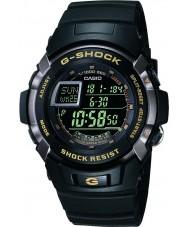 Casio G-7710-1ER Mężczyźni g-shock black Auto-Iluminator zegarek