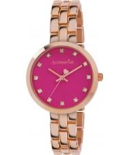 Accessorize AZ4001 Kolor Ladies pop różowe złoto bransoletka zegarek