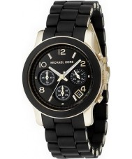Michael Kors MK5191 Bieżnia damskie czarny zegarek chronograf
