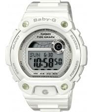 Casio BLX-100-7ER Panie baby-g wykres pływów biały zegarek