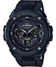 Casio GST-W100G-1BER Radio Mężczyźni g-shock zegarek sterowany słonecznej czarny