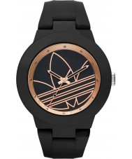 Adidas ADH3086 Aberdeen matowy czarny silikonowy pasek zegarka