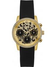 Guess W0023L6 Panie czas, aby dać czarny silikonowy pasek zegarka