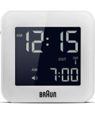 Braun BNC008WH-RC Globalny sterowane radiem podróży Budzik - biały