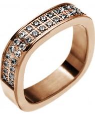 Edblad 83186 Panie jolie rose pozłacany pierścień - rozmiar L (XS)