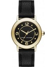 Marc Jacobs MJ1475 Panie Riley czarny skórzany pasek zegarka