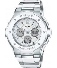 Casio MSG-300C-7B3ER Panie baby-g czas światowy two tone combi zegarek