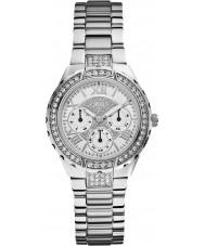 Guess W0111L1 viva Women srebro stal bransoletka zegarek