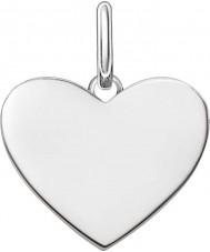 Thomas Sabo LBPE0002-001-12 Panie kochają most 925 srebro wisiorek