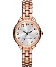 Marc Jacobs MJ3496 Panie Betty różowe złoto stalową bransoletę zegarka