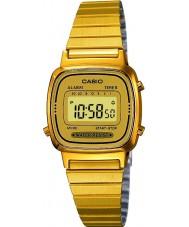 Casio LA670WEGA-9EF Kolekcja pozłacany zegarek