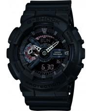 Casio GA-110MB-1AER Mężczyźni g-shock czarny matowy żywicą pasek zegarka