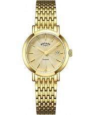 Rotary LB05303-03 zegarki damskie Windsor pozłacany zegarek