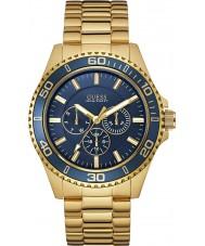Guess W0172G5 Mężczyźni Chaser pozłacana bransoletka zegarek