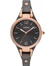 Fossil ES3077 Panie gruzja szary zegarek