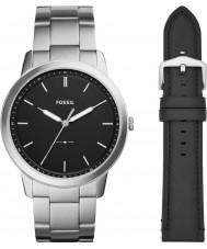 Fossil FS5451SET Męski zestaw podarunkowy z minimalistycznym zegarem