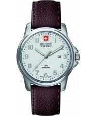 Swiss Military 6-4231-04-001 Mens szwajcarski żołnierz prime brązowy skórzany pasek zegarka