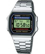 Casio A168WA-1YES Kolekcja klasyczny zegarek cyfrowy