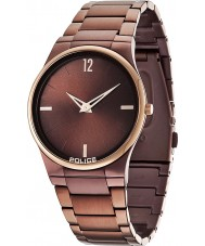 Police 12744JRSBZR-12M Mężczyźni horyzont brązowy zegarek