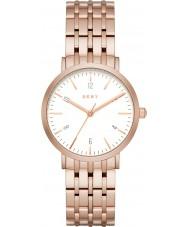 DKNY NY2504 Minetta Women różowe złoto stalową bransoletę zegarka