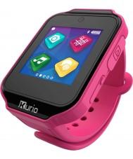 Kurio C16501 Dzieci żywicy różowy zegarek inteligentnego ekranu dotykowego