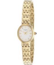 Rotary LB02084-02 zegarki damskie białym złotem zegarek