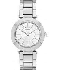 DKNY NY2285 Panie Stanhope Srebrna bransoleta ze stali zegarek