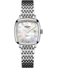 Rotary LB05305-07 Panie zegarki srebrny Windsor ton stali zegarek