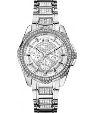 Guess W0286L1 Panie nieustraszony 2 srebrny zegarek bransoleta ze stali