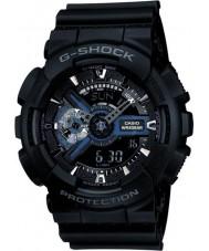 Casio GA-110-1BER Mężczyźni g-shock black combi czas na świecie zegarek