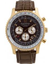 Krug-Baumen 600213DS Mężczyźni podróżnego powietrza diamond watch