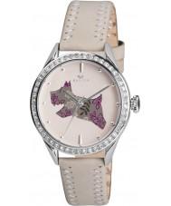 Radley RY2083 Krem Panie prawdziwy skórzany pasek zegarek z kamieniami