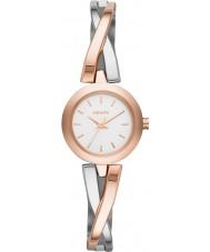 DKNY NY2172 Przejściu Women wzrosła złoty srebrny zegarek