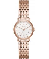 DKNY NY2511 Minetta Women różowe złoto stalową bransoletę zegarka