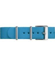 Timex TW7C07400 Weekender Fairfield niebieski pasek z nylonu