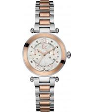 Gc Y06002L1 Ladychic wzrosła pozłacane bransoletę zegarka
